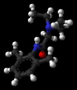 molécule de Xylocaine